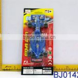 Plastic kids toy popular blue small F1 racing car toy