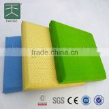 Sound absorption panel fabric acoustic board glass wool thickness for acoustic insulation for cinema