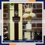 2016 wholesale factory price fragrance oil 180ml natural rattan reed diffuser gift sets & aroma humidifier