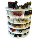 China Factory Of Custom Shoe Display Rack Wooden Shoe Stand