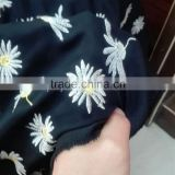 Stylish Embroidery Nada/Nida abaya fabric with the latest trends for Muslim