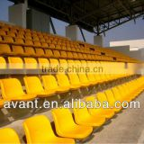 soccer,cricket,hockey faderesistant sports stadium chair,retractable seating system,bucket seat for public ball sports