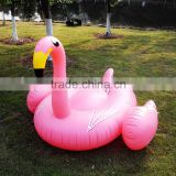 small quantity order available 190cm pink giant inflatable flamingo pool float,giant inflatable flamingo for sale
