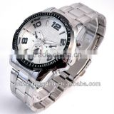 Hot style singapore stainless steel japan miyota 2035 movement men watch