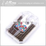 Fashion 5cm 70 pcs Steel + PS bobby pins With plastic box