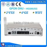 4LAN+2POTS+WiFi+USB GPON ONT/GPON ONU Home Gateway Support IPTV/VoIP/PPPoE for FTTH Solution