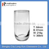 LongRun 12oz Anhui Bengbu glass factory custom drinking glassware&tableware glass cups set&glass cup wholesale
