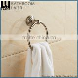 No.13132 Made In China Modern Bathroom Stainless Steel Brush Nicked Wall-Mounted Bathroom Accessories Towel Ring
