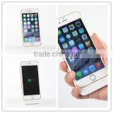 OEM China manufacturer ultra thin power bank case for iphone 6, external backup battery case for iphone 6