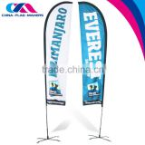 wholesale fly outdoor advertise flex wind flag and banner