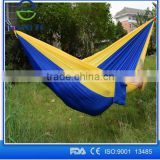 High quality Factory Customize 2 Person Outdoor Camping 210T Ripstop Nylon Parachute Portable Hammock