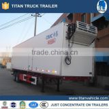 China 13m 40ft food refrigerated truck trailer / semi trailer / reefer truck