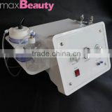 2016 guangzhou maxbeauty Factory price 3in1 skin dermabrasion renewal facial machine Remove comedones blackheads(CE Certificate)