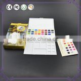 Art Supplies 12/24/30 colors Solid Watercolor Paints Set For Artist School Student Drawing Painting Stationery