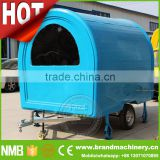 mobile food vending machine coffee vending cart, churrasco trailer, breakfast carts