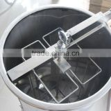 2frames stainless steel manual honey manual extractor /honey extractor machine/2 frames honey extractor