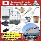 Japanese brand and Durable one stop gardens greenhouse parts for gardening and agricultural use , small lot available