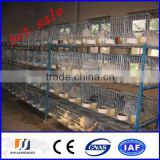 2015 New !!!stainless steel rabbit cages(manufactory)