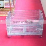 Galvanized Wire Container