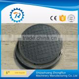 ISO9001 Precision Top Quality 500MM Ductile Iron Round Manhole Cover