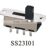 SS23I01 2P3T slide switch