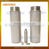 2 5 20 45 70 80 90 150 Microns Sintered SS 304 316L Stainless Steel Chemical Air Mesh Filter Tube