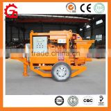 GPS-7 hydraulic stepless speed change S valve portable concrete pump for sale in Pakistan