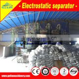 High quality electricity separator for tio2 sand ore