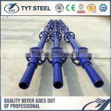 galvanized ringlock vertical ringlock scaffold pipe clamp handrail system ringlock truss ledger