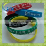 sport silicone wristband with your logo