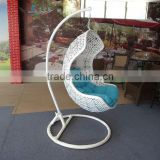 hanging egg swing chair/balcony hanging chair/rattan rattan swing chair hanging chair