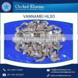 Frozen White Shrimps Vannamei HLSO Head-less, shell-on Supplier