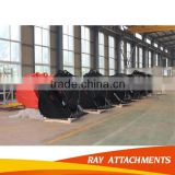 Skeleton Screening Mud Volume Drawing Excavator Bucket Types