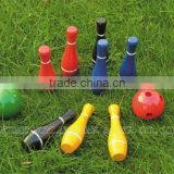wooden bowling,sport balls,bowling product