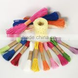twisted paper rope ,colored paper yarn,plastic twine making machine