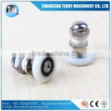19mm plastic nylon shower room door roller bearing