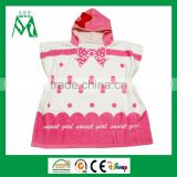 Baby poncho hooded towel baby beach towel wholesale