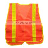 100%polyester High visibility warning reflective safety sports vest