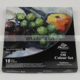 18 x 12ml Coloured Box Phoenix Oil Colour Set