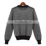 Fashion 2014 A/W New design women computer knitted pullover sweater