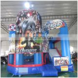 Cheap and New design commercial inflatable bouncy jumping castle with water slide for sale for kiids