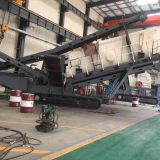 screen mobile portable track-mounted impact/cone and jaw crusher crawler mobile jaw crusher