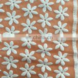 chemical mesh lace fabric used on women's fashion garment