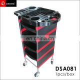 best selling hot chinese products New style design salon beauty trolley wheel