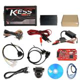 KESS 5.017 No Token Limit V2.23 Kess V2 OBD2 Manager red board chip tuning tool