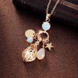Bright Crystal Rhinestones Heart Pendant  Necklace 4 Colors Pet Jewelry S/M/L