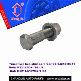 Mercedes Actros/Axor Hub Bolt Phophating Grey Knurling