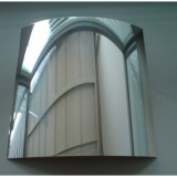 Alucoone mirror finished aluminum cladding panel composite panel
