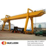 Double Main Girder 32 Ton Electric Motor Gantry Crane