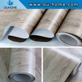 PVC wood grain texture self-adhesive film